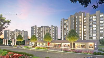 Project Image of 341 - 505 Sq.ft 1 BHK Apartment for buy in Enerrgia Skyi Star Towers Phase I