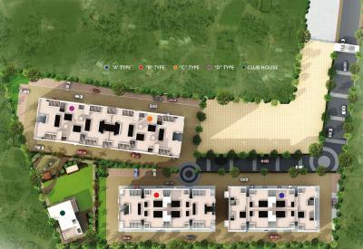 श्री निधि फेज 2 ए विंग में खरीदने के लिए 2 - 590 Sq.ft 2 BHK अपार्टमेंट प्रोजेक्ट  की तस्वीर