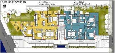 Project Image of 1624 - 1714 Sq.ft 3 BHK Apartment for buy in Akruti Antra