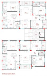 Project Image of 2650 - 2653 Sq.ft 3 BHK Apartment for buy in Lahari Benz