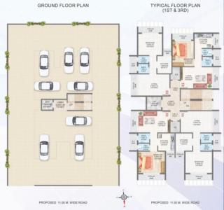 Gallery Cover Image of 620 Sq.ft 1 BHK Apartment for buy in Mass Residency, Kamothe for 5000000