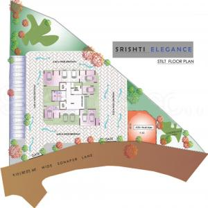 Project Image of 372.0 - 484.0 Sq.ft 1 BHK Apartment for buy in Srishti Elegance