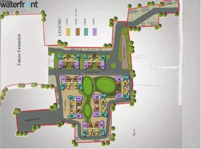 Gallery Cover Image of 1244 Sq.ft 3 BHK Apartment for buy in Siddha Water Front, Barrackpore for 3844000