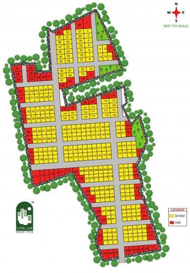 Project Image of 1200 - 2400 Sq.ft Residential Plot Plot for buy in Upkar Royal Garden Plots