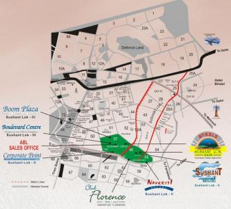 Gallery Cover Image of 60 Sq.ft Residential Plot for buy in Ansal Florence Residency, Sector 57 for 8100000