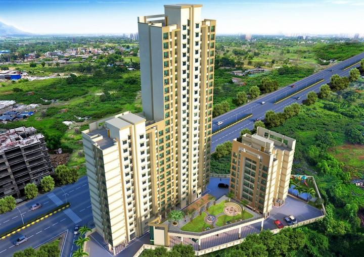 Project Image of 383.52 - 561.23 Sq.ft 1 BHK Apartment for buy in Virat Green Avenue 1A