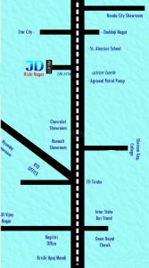 Project Image of 0 - 1300 Sq.ft 3 BHK Villa for buy in JD Villa