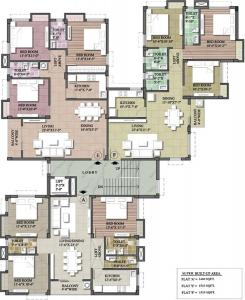 Gallery Cover Image of 1519 Sq.ft 3 BHK Apartment for buy in Abira Kaninika, Ballygunge for 15949500