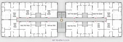Project Image of 476.2 - 669.73 Sq.ft 2 BHK Apartment for buy in Masons Apaar Dream Homes