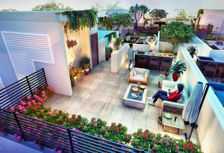 Project Image of 4560.0 - 5991.0 Sq.ft 4 BHK Villa for buy in Central Park Fleur Villas