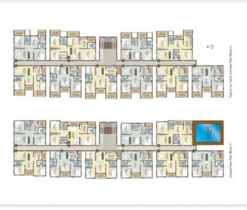 Gallery Cover Image of 535 Sq.ft 1 BHK Apartment for buy in Radiant Silver Bell 2, Krishnarajapura for 3300000