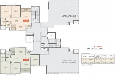 Gallery Cover Image of 700 Sq.ft 1 RK Apartment for rent in Rohan Upavan Phase 1, Byrathi for 6000
