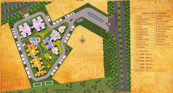 Project Image of 862.0 - 1646.0 Sq.ft 2 BHK Apartment for buy in Sarvottam Shree