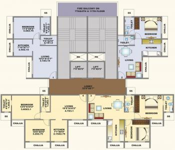 Project Image of 320.0 - 446.0 Sq.ft 1 BHK Apartment for buy in Sai Udanda