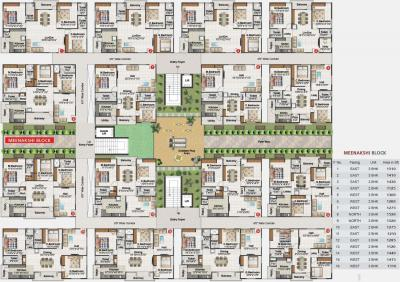 Gallery Cover Image of 1200 Sq.ft 2 BHK Apartment for buy in  Balaji Ashirvaad Elite, Tejaswini Nagar for 5700000
