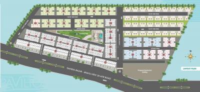Project Image of 1300 - 1750 Sq.ft 3 BHK Villa for buy in Akshar Pavilion Villa