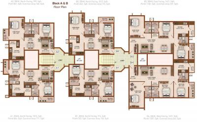 Gallery Cover Image of 762 Sq.ft 2 BHK Independent Floor for buy in PNR Tripti, Ganapathy for 3450000