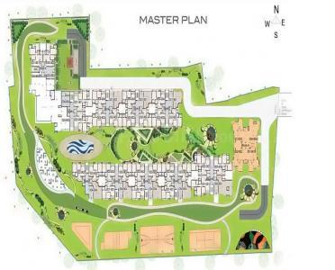Gallery Cover Image of 1072 Sq.ft 2 BHK Apartment for rent in Arvind Skylands, Nehru Nagar for 23000