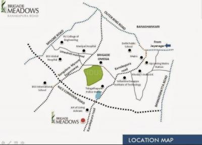 Project Image of 1070.0 - 1440.0 Sq.ft 2 BHK Apartment for buy in Brigade Parklane at Brigade Meadows