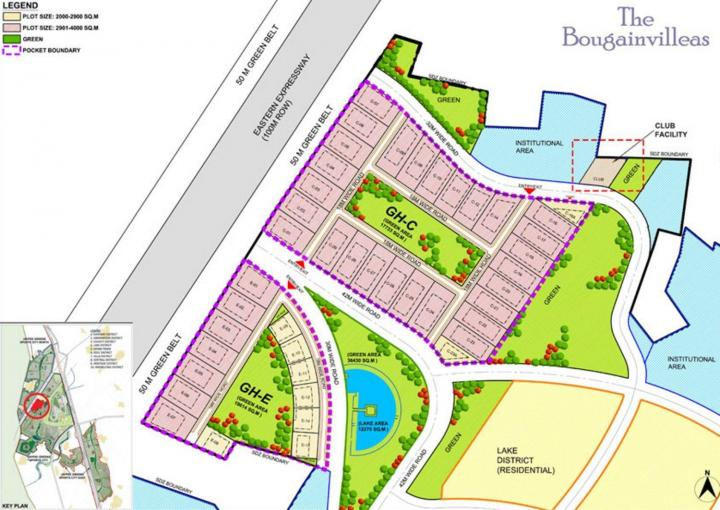 Project Image of 18000 - 35999 Sq.ft Residential Plot Plot for buy in Jaypee Bougainvilleas