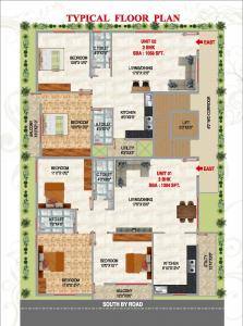 Project Image of 1058.0 - 1304.0 Sq.ft 2 BHK Apartment for buy in SLV Pride