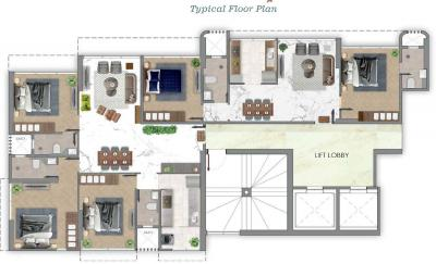 Project Image of 1000 Sq.ft 2 BHK Apartment for buyin Dadar West for 36000000