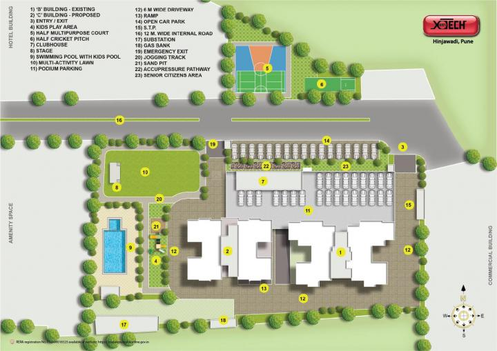 Project Image of 0 - 681 Sq.ft 2 BHK Apartment for buy in Vascon Xotech Phase 2
