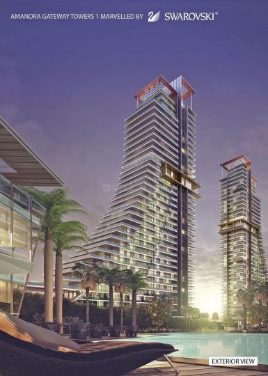 Amanora Gateway Towers In Hadapsar Pune Price Floor