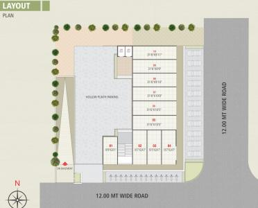 Project Image of 607.19 - 615.27 Sq.ft 2 BHK Apartment for buy in Jay Shagun Residency