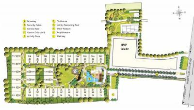 Gallery Cover Image of 3252 Sq.ft 3 BHK Apartment for rent in Habitat Crest, Krishnarajapura for 60000