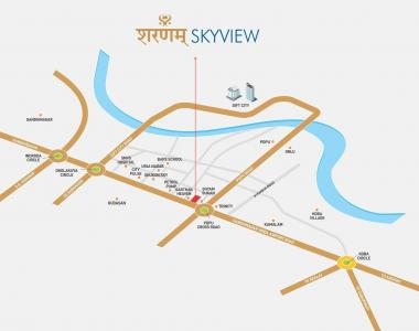 Project Image of 769.0 - 1234.0 Sq.ft 2 BHK Apartment for buy in Anjani Sharnam Sky View