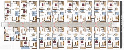 Project Image of 999.97 - 1610.0 Sq.ft 2 BHK Apartment for buy in Sai Teja Heights Block A