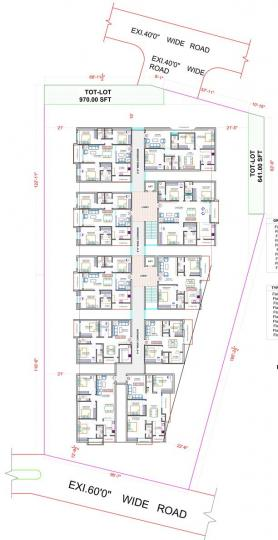 Project Image of 1448.0 - 2020.0 Sq.ft 3 BHK Apartment for buy in Aryamitra Ananda Urbansdale