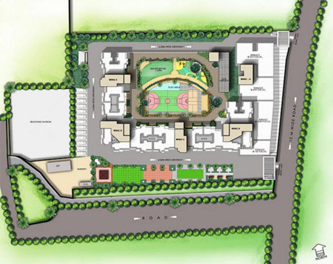 Project Image of 638.73 - 902.02 Sq.ft 2 BHK Apartment for buy in Gala One Panch Pakhadi