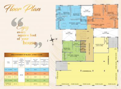 Project Image of 560.0 - 1087.0 Sq.ft 1 BHK Apartment for buy in Sun Dwarka