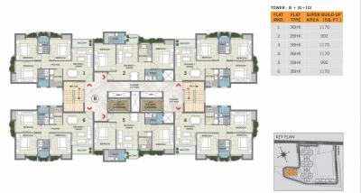 Gallery Cover Image of 992 Sq.ft 2 BHK Apartment for rent in Magnolia Oxygen, Chotto Chandpur for 11000