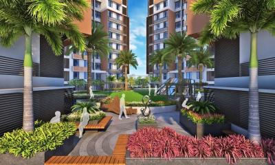 Gallery Cover Image of 1250 Sq.ft 3 BHK Apartment for rent in  Stanza, Shela for 17000
