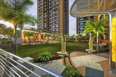 Gallery Cover Image of 1435 Sq.ft 3 BHK Apartment for rent in Vishwanath Sarathya, Shela for 21000
