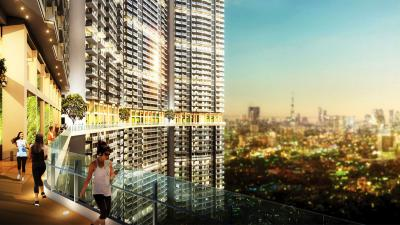Gallery Cover Image of 1500 Sq.ft 2 BHK Apartment for buy in L&T Cresent Bay , Parel for 29500000