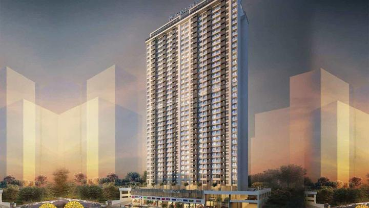 Project Image of 424.0 - 653.0 Sq.ft 1 BHK Apartment for buy in Ashar Group Edge Wing A Phase II