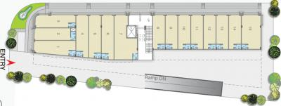 Project Image of 124 - 578 Sq.ft Shop Shop for buy in Gala Hub ANX
