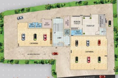 Project Image of 980.0 - 1602.0 Sq.ft Studio Studio Apartment for buy in Sandhu Ekam Park View