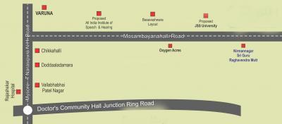 M Raju Gowrinagara Residential Layout Phase II