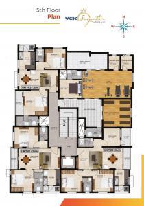 वीजीके संगमित्रा में खरीदने के लिए 876.0 - 1360.0 Sq.ft 2 BHK अपार्टमेंट प्रोजेक्ट  की तस्वीर