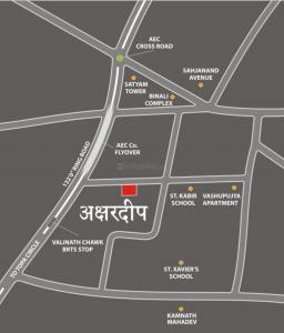 Project Image of 1305.0 - 1710.0 Sq.ft 2 BHK Apartment for buy in Akshar Akshardeep