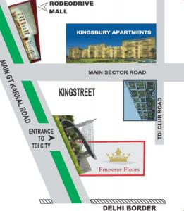 Project Image of 2025.0 - 2700.0 Sq.ft 3 BHK Apartment for buy in TDI Emperor Floors