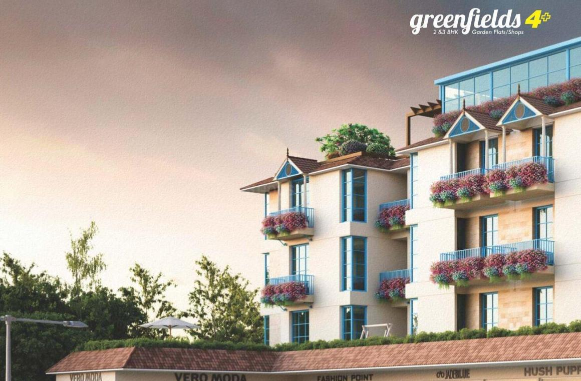 Project Image of 1000.0 - 1200.0 Sq.ft 2 BHK Apartment for buy in Fortune Greenfields 4 And 4 Plus