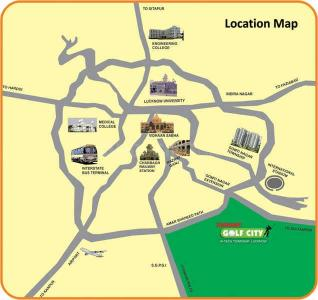 Project Image of 465.0 - 2041.0 Sq.ft 1 BHK Apartment for buy in Ansal API Sushant Media Enclave