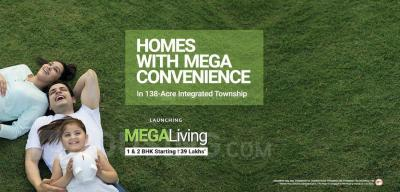 Project Image of 389.0 - 639.0 Sq.ft 1 BHK Apartment for buy in Wadhwa Wise City