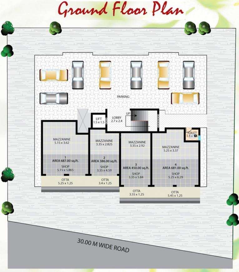 Project Image of 454.99 - 565.75 Sq.ft 2 BHK Apartment for buy in Perfect Sai Sha